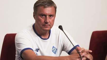"""Моя відставка?  Це питання до президента, – Хацкевич після вильоту """"Динамо"""" з Ліги чемпіонів"""