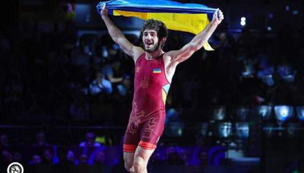 Українець Арушанян став чемпіоном світу з боротьби серед юніорів: відео