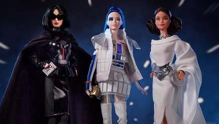 """Ляльки Барбі перетворилися в героїнь фільму """"Зоряні війни"""": неймовірні фото"""