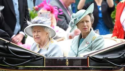 Принцесі Анні – 69: як вітає королівська сім'я доньку Єлизавети II