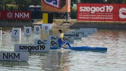 Україна виборола першу медаль на чемпіонаті світу з веслування на байдарках і каное