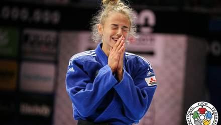 18-летняя Дарья Билодид выиграла чемпионат мира по дзюдо во второй раз