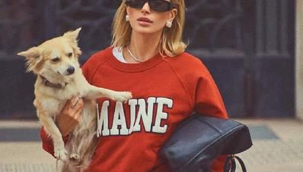 Хейлі Бібер повторила фото принцеси Діани у зйомці для французького Vogue