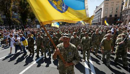 Марш захисників України: як вдалося організувати та уникнути політики