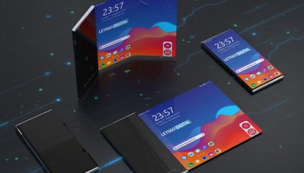 Гибкий смартфон LG впервые показали на фото