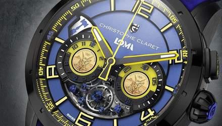 Ломаченко после боя против Кэмпбелла получил именные часы и подарил их отцу: видео