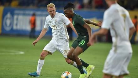 Україна – Нігерія: відеоогляд товариського матчу