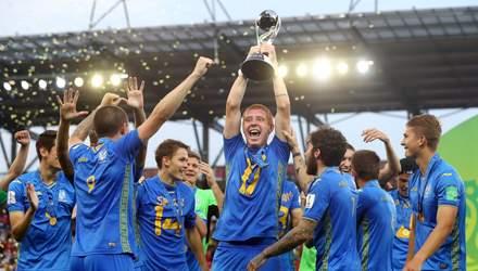 """Четверо игроков сборной Украины U-20 названы ФИФА """"восходящими звездами"""""""