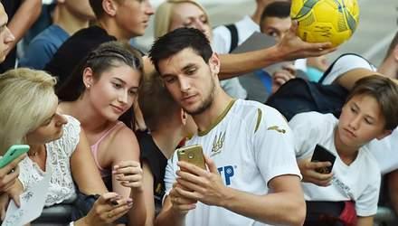 Нападающий сборной Украины заявил о желании играть в Италии