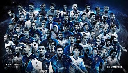 ФІФА назвала претендентів на символічну збірну: вперше за 10 років найбільше гравців з АПЛ