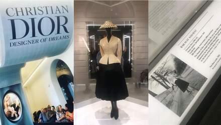 Лондонская выставка платьев Dior побила рекорд: эксклюзивные фото и видео