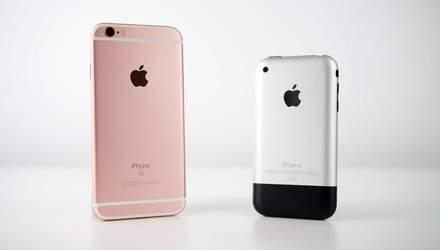 Відео дня: як змінювався iPhone протягом 12 років