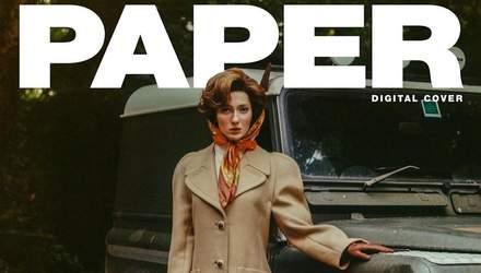 Трансгендерна модель Chanel знялася для глянцю в образі королеви Єлизавети ІІ: вражаючі фото