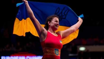 Українка Бережна стала віцечемпіонкою світу з боротьби