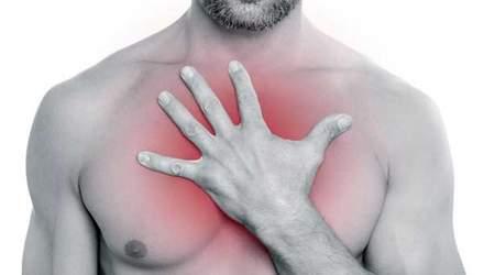 Симптоми раку грудей у чоловіків