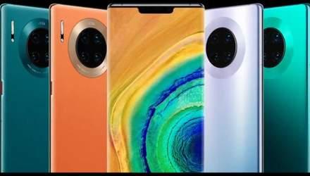 Флагманські смартфони Huawei Mate 30 і Mate 30 Pro представили офіційно: характеристики і ціна
