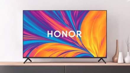 Телевізори Honor мають надійти в продаж в Україні