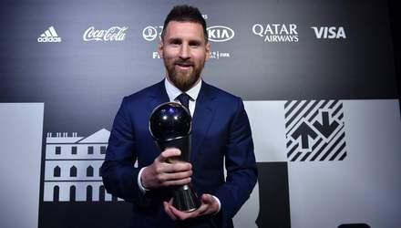 Стало відомо, за кого голосував Мессі у номінації найкращий гравець і тренер сезону