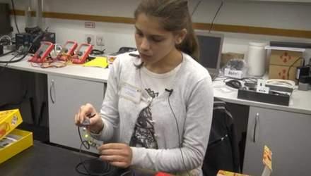Українська школярка розробила ґаджет, що може врятувати життя