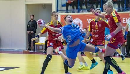 Збірна України програла Румунії у кваліфікації жіночого Євро-2020 з гандболу