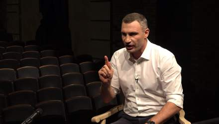 """Про ботоферму, критику і """"смотрящих"""" Столара та Суркіса: Віталій Кличко дав відверте інтерв'ю"""
