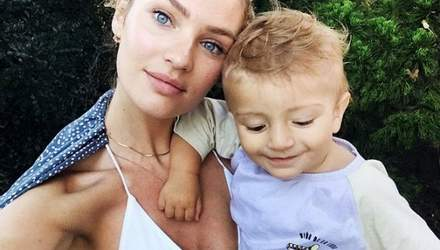 """""""Ангел"""" Victoria's Secret Кэндис Свейнпол показала миловидное фото с детьми"""