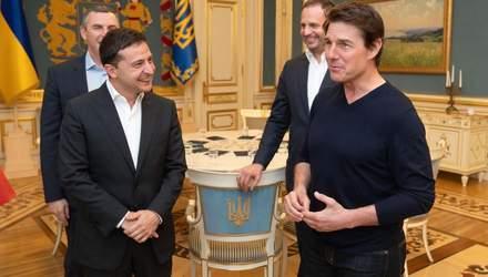 Зеленский встретился с Томом Крузом: поговорили о кино – фото