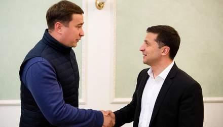 Зеленський призначив Лещенка уповноваженим президента з земельних питань