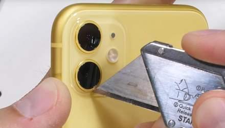 iPhone 11 протестовали на прочность: не обошлось без сюрпризов