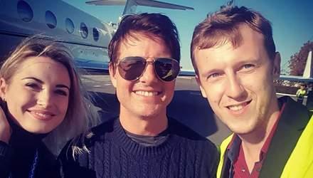 Том Круз прилетел в Одессу: появилось первое фото