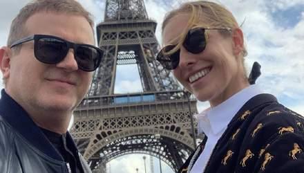 Катя Осадча і Юрій Горбунов влаштували романтичну подорож до Парижа: фото