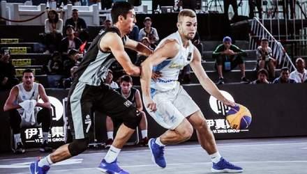 Збірна України з баскетболу 3х3 завдала Бразилії першої поразки на чемпіонаті світу