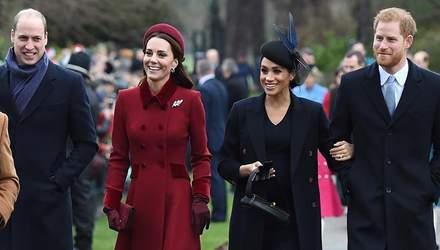 Кейт Миддлтон, Меган Маркл и принцы Уильям и Гарри объединились для рекламной кампании: видео