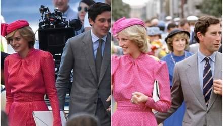 Викапана Діана: в мережі з'явилися нові фото Емми Коррін в образі принцеси Вельської