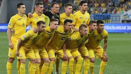 Сборная Украины и Литвы определились с формой на матч