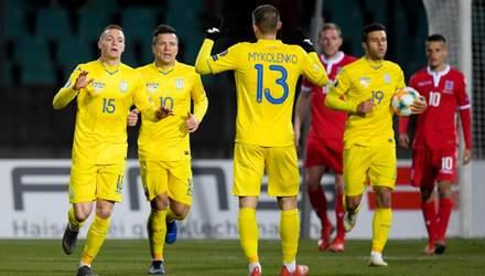 Украина – Литва: Коноплянка начнет игру на скамье запасных, Соболь – в старте