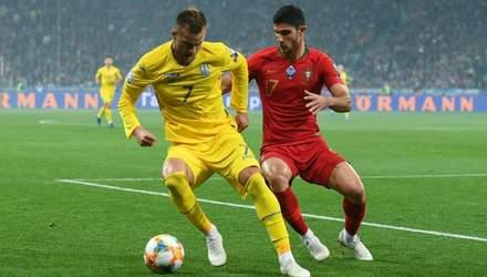 Хитрий фінт Ярмоленка в матчі з португальцями став найкращим за версією УЄФА: відео
