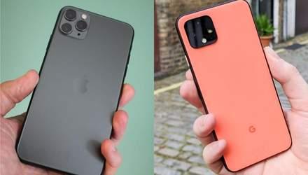 Google Pixel 4 или iPhone 11 Pro: чья камера снимает лучше