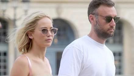 Голлівудська акторка Дженніфер Лоуренс влаштувала розкішне весілля з Куком Мароні