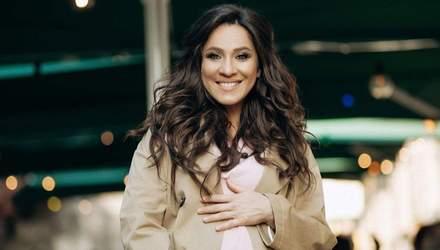 Вагітна Наталка Карпа зізналась, що її первісток матиме вірменське ім'я