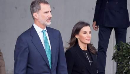 Як не втратити ефектності у чорному вбранні: приклад королеви Іспанії
