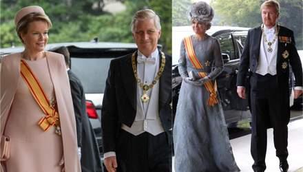 Кто из королевской семьи посетил интронизацию императора Японии: волшебные фото