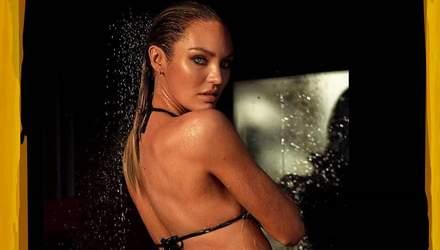 """Кендіс Сванепул показала розкішну фігуру в купальнику: фото """"ангела"""" Victoria's Secret"""