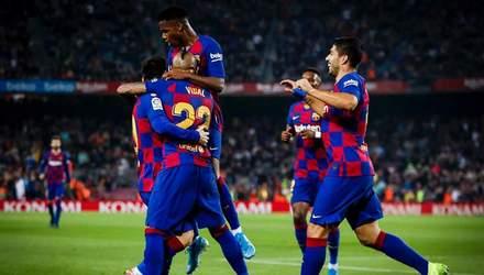 """Розгромні перемоги """"Барселони"""" та """"Реалу"""", нічия """"Атлетіко"""": результати 11 туру Ла Ліги"""