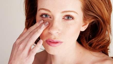Как убрать синяки под глазами - семь действующих способов