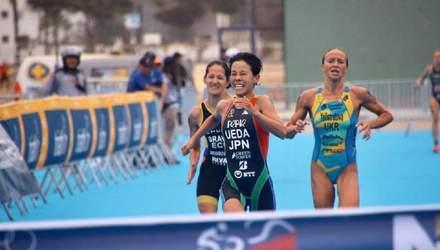 Українка Єлістратова виборола срібло Кубка світу з триатлону