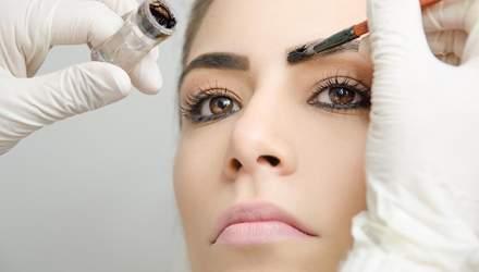 Почему не надо красить брови хной и какие ужасные последствия могут быть: фото