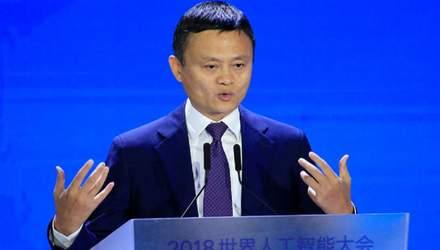 Засновник Alibaba Джек Ма хоче, щоб його бізнес-партнери інвестували в Україну