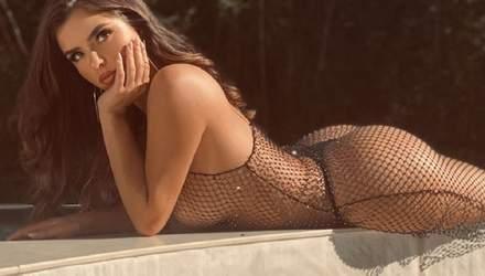 Пышногрудая Деми Роуз снялась для эротического журнала: фото 18+