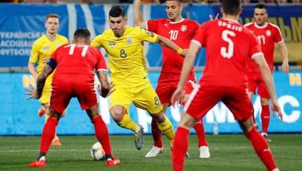 Сербия – Украина: анонс на матч квалификации Евро-2020